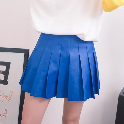 Glossy Tennis Skirt
