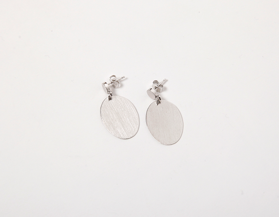 Eclipse sliver earring_S (size : one)