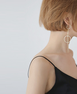Ann's Gold Earrings