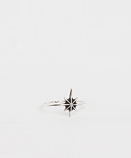 Silver star silver925 ring