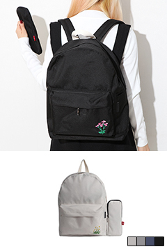 Single Flower Backpack #Bag and Pencil Case