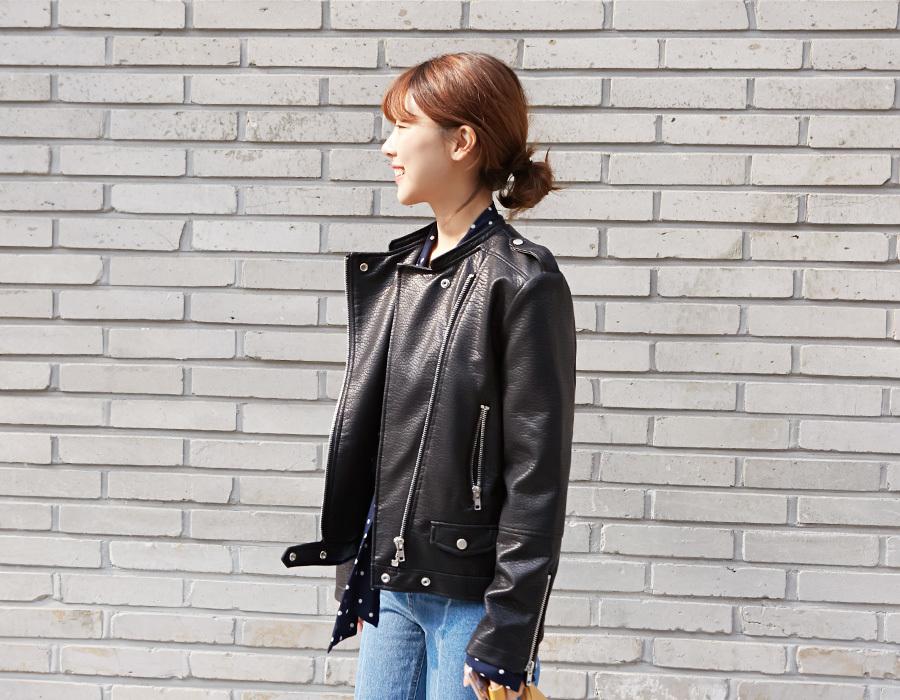 Closet hard rider jacket_M (size : free)
