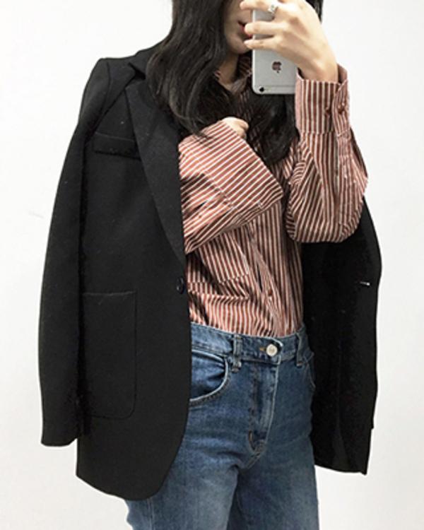 basic spring jacket (3 color)