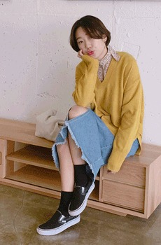 Backhug-wool knit