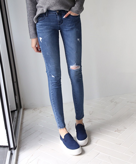 Deep Color Washing Skinny