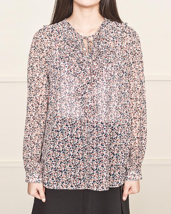 shine flower blouse (2 color)
