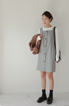 Bonbon-Check Dress