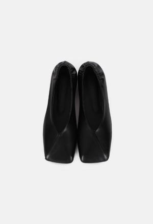 Square flat shoes (2color)