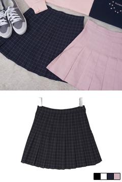 Juliet Check Tennis Skirt