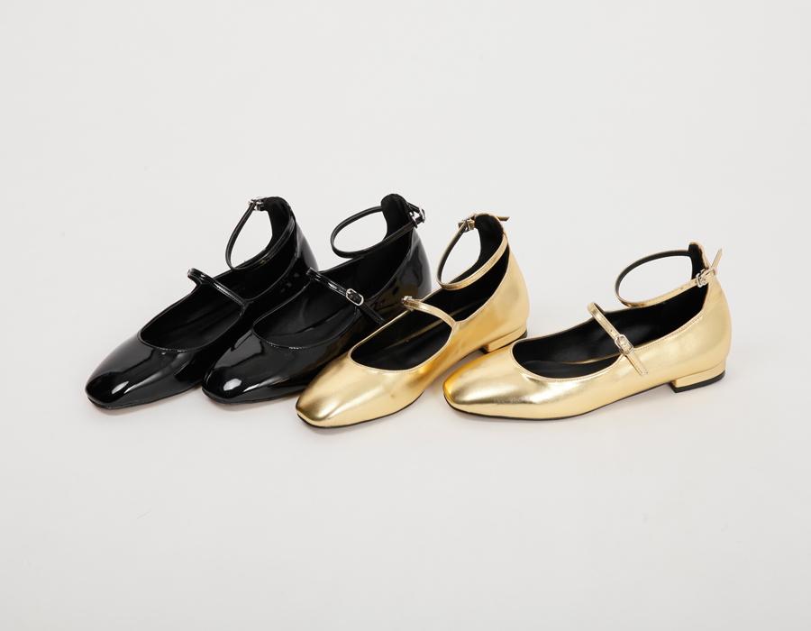 Girlish enamel mary-janes shoes_S (size : 230,235,240,245,250)