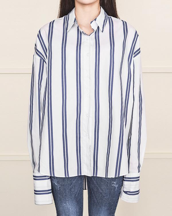 chic stirpe loose shirts (3 color)