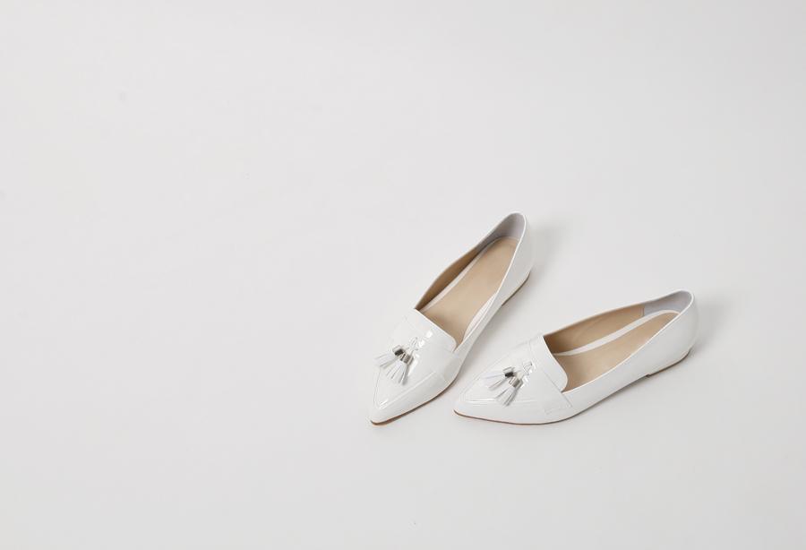 Tassel stiletto loafer_H (size : 225,230,235,240,245,250)