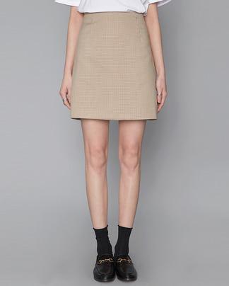 classic check mini skirt (2 colors)