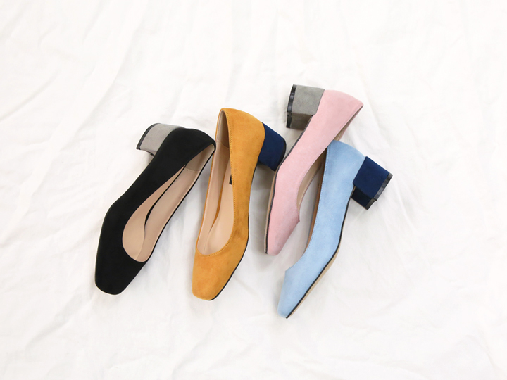 2 TONE SQUARE TOE MIDDEL HILL