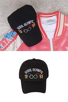 올림픽오륜기모자
