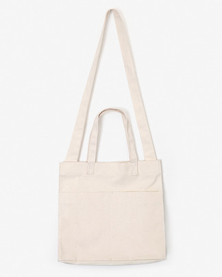 two pocket two way eco bag (3 colors)