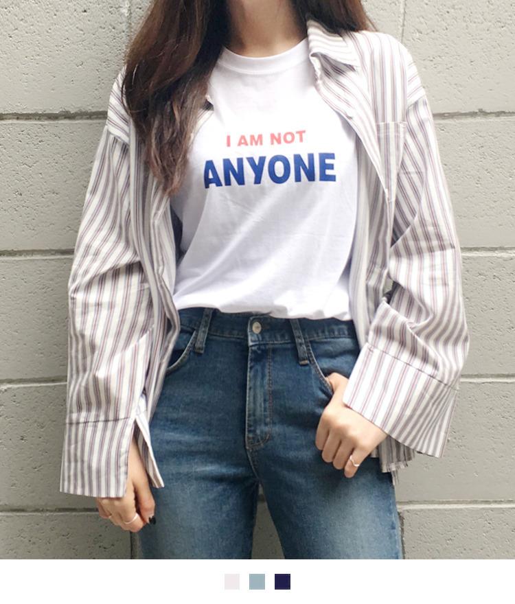 쓰리 스트라이프 셔츠