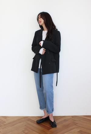 Stripe double jacket (2color)