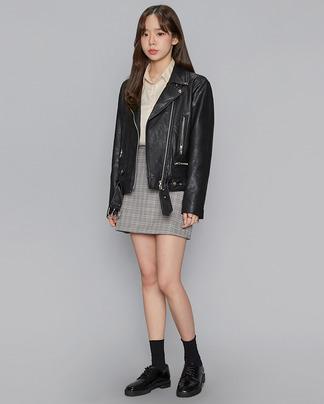 simple design rider jacket (2 colors)