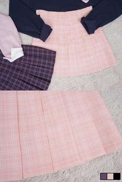 Plum check tennis skirt # skirt pants