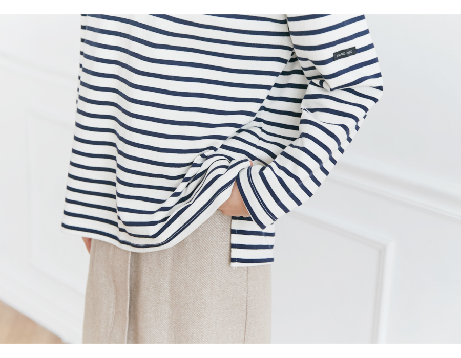 Much stripe basic T_S (size : free)
