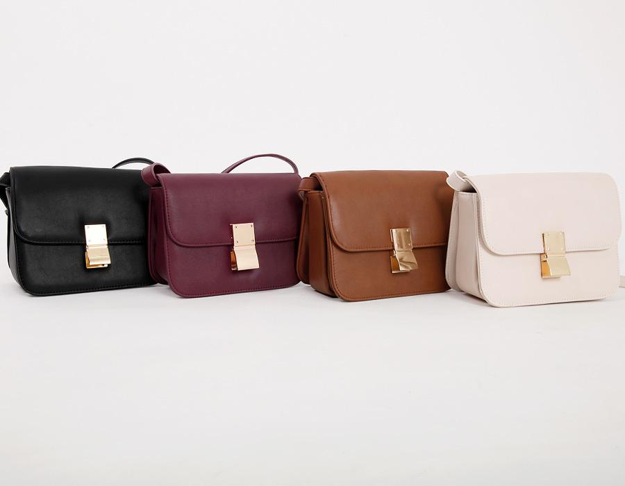 Lauren buckle classic bag_K(size : one)