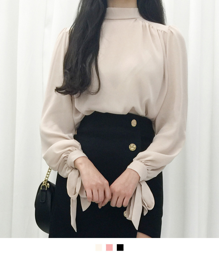 Silly ribbon blouse