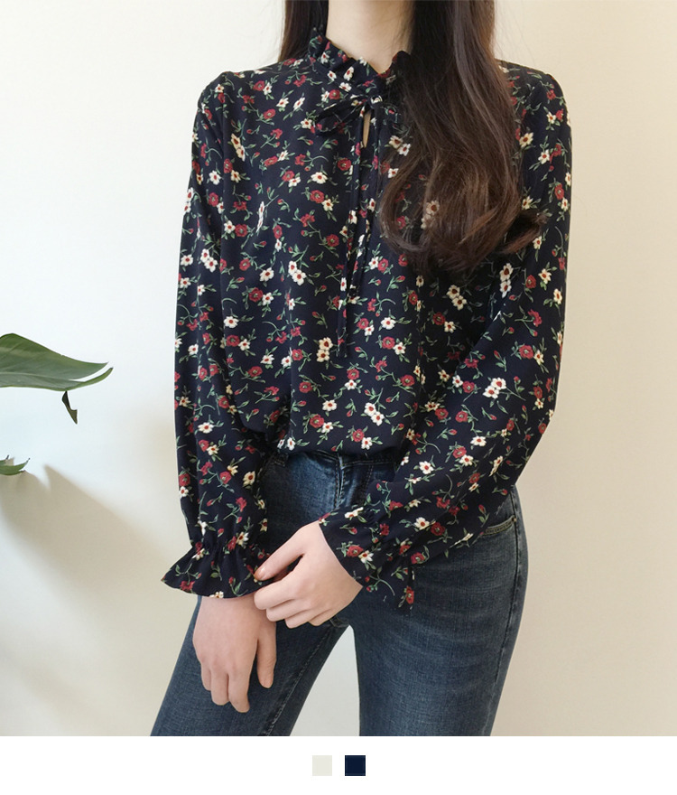 Lily flower blouse