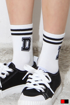 Alphabet Logo Socks