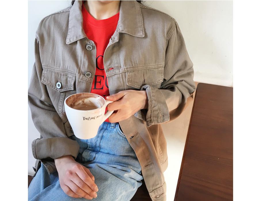Diligent cotton jacket_M (size : free)