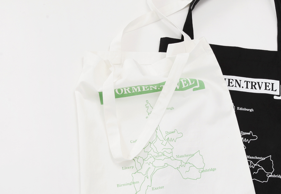 Blank map echo bag_H (size : one)