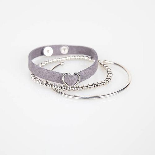 Heart Taxi Layered Bracelet