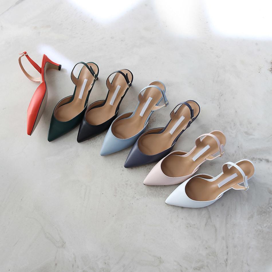 Monday sling back heel 5cm