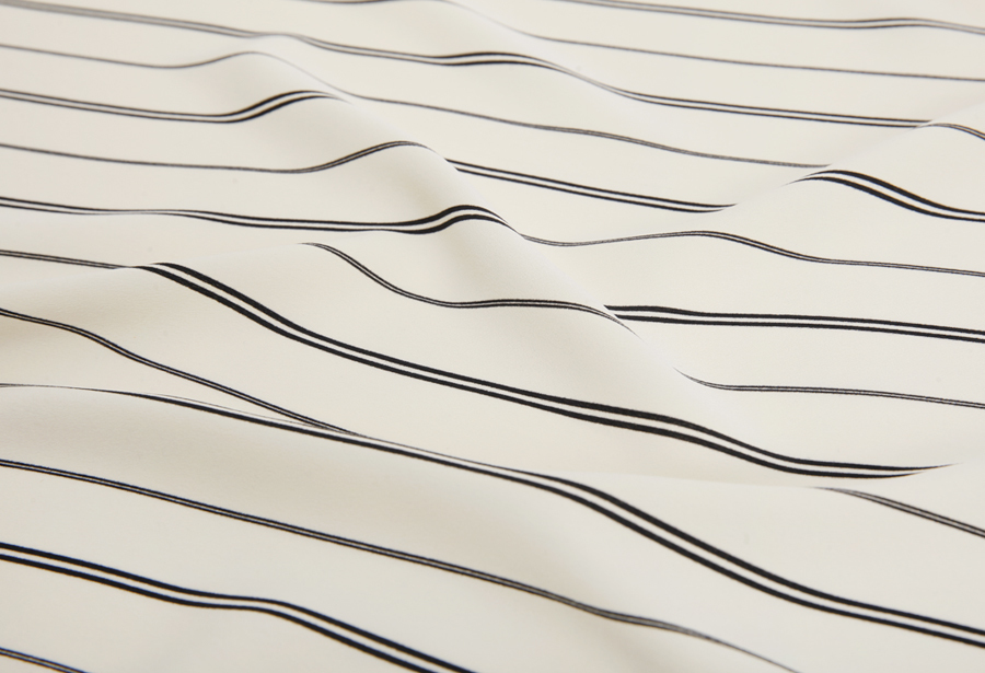 Mark stripe scarf_H (size : one)