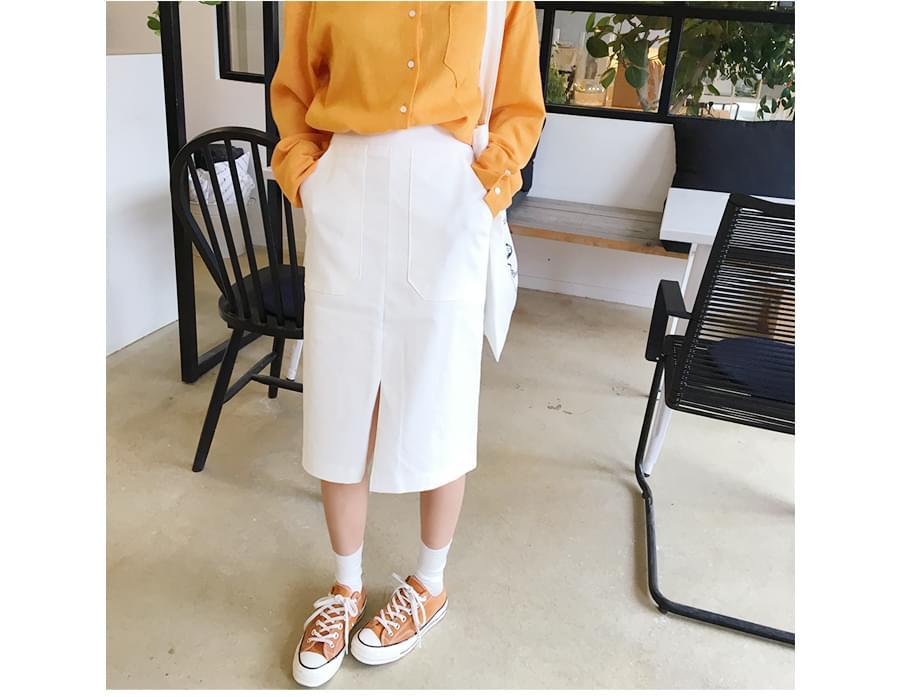 Day pocket tube skirt_B (size : free)