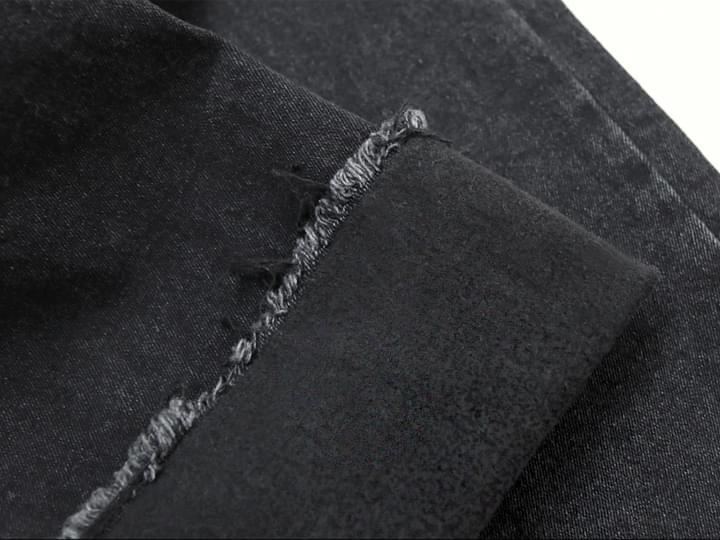 NAPPING BLACK SEMI BOOTS PANTS