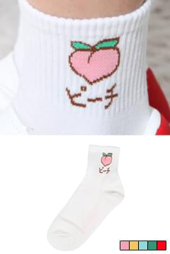 Fruit fruit sea socks