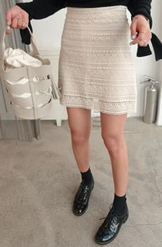 Irene-lace skirt