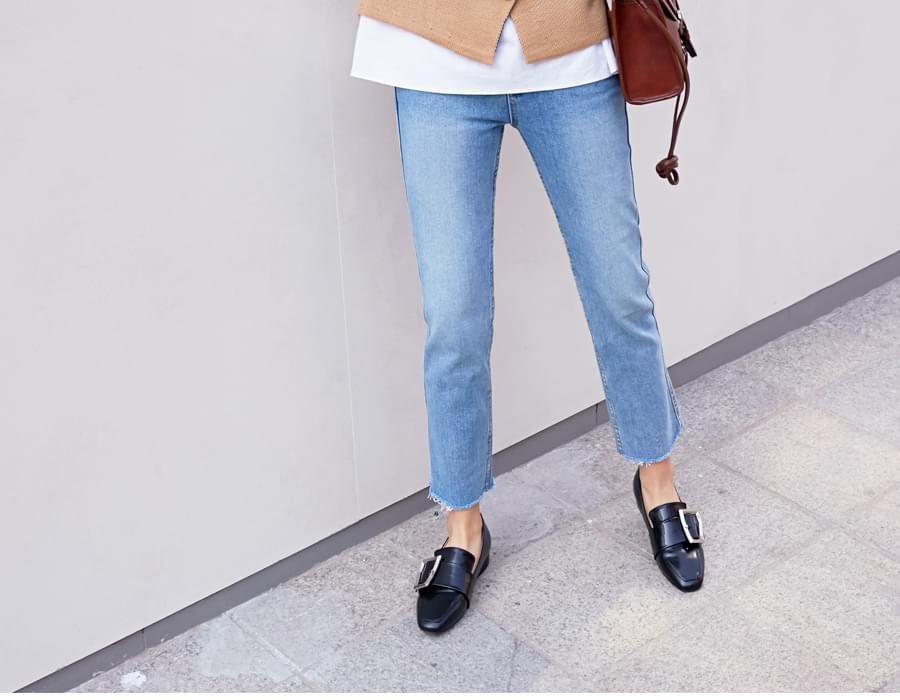 Fresh cutting denim pants_B (size : S,M,L)