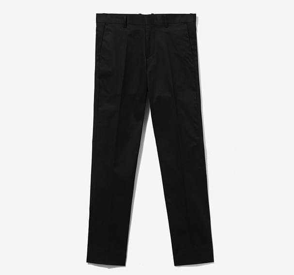 Alex Cotton Twill Pants - Black