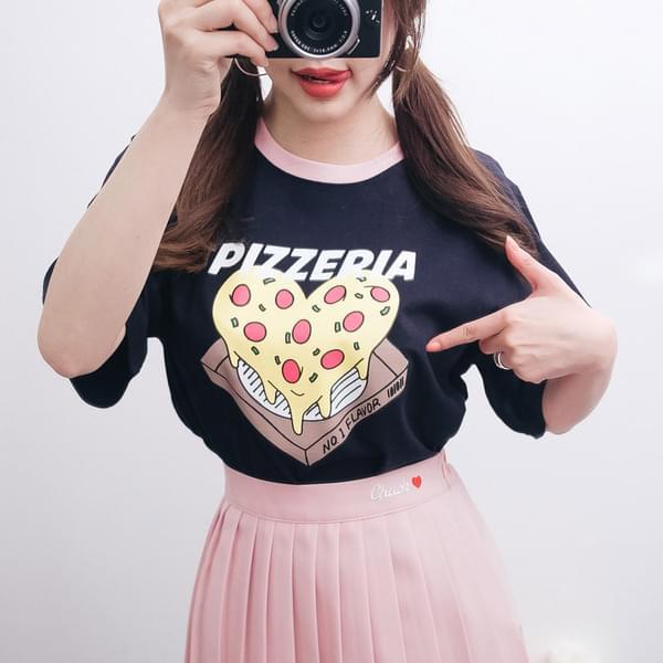 피자 반팔티 (t2917)