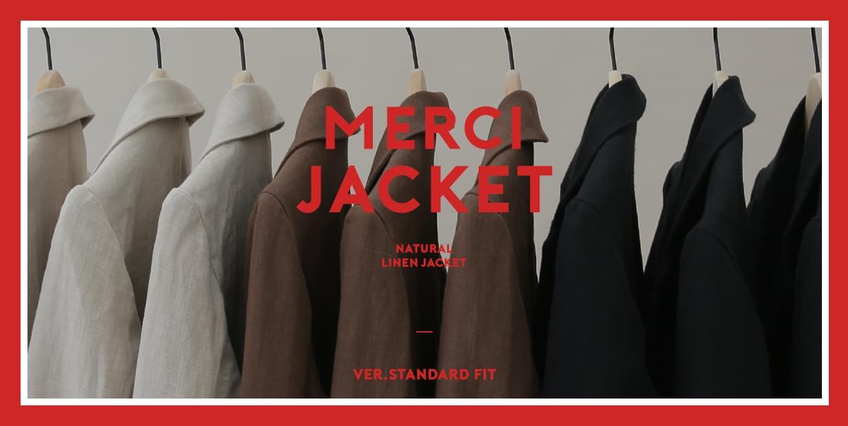 "(ZEM.made) Merci-린넨자켓 (ver.스탠다드핏)""LINEN-MADE series"" 라미100%자켓"