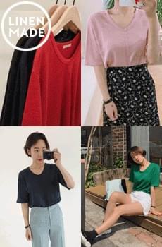 Choice-Linen T-shirt