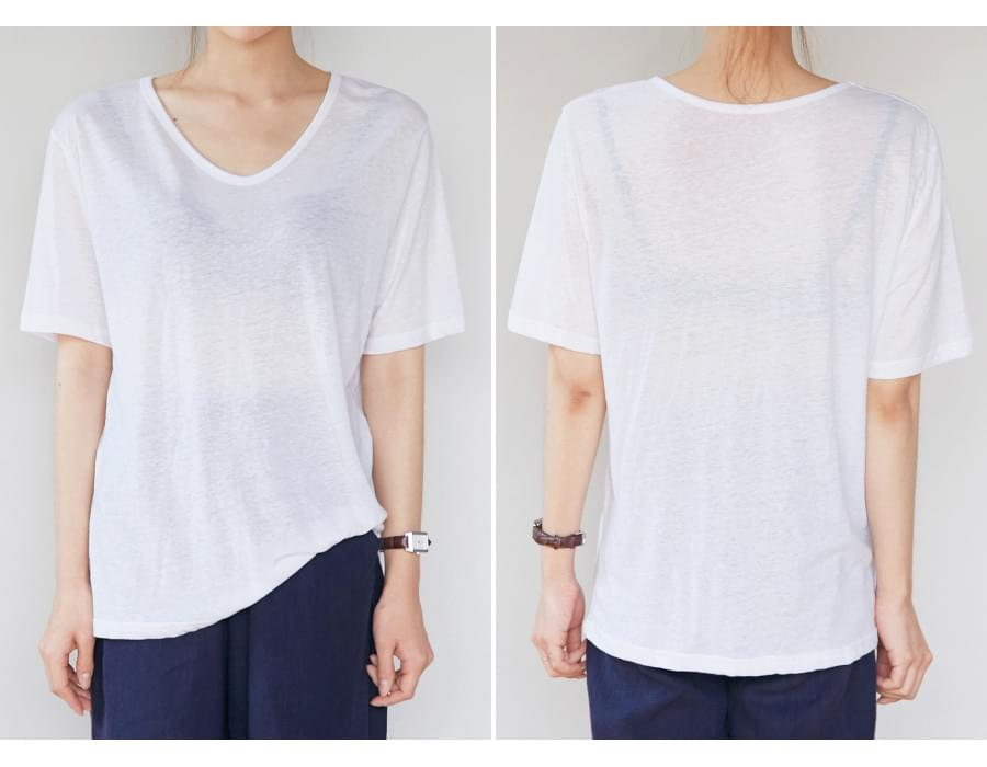 Date linen loose T_K (size : free)