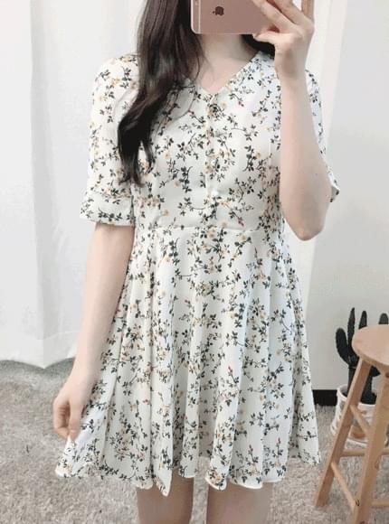 Rose Flower Dress