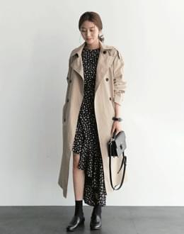 Rubile coat beige