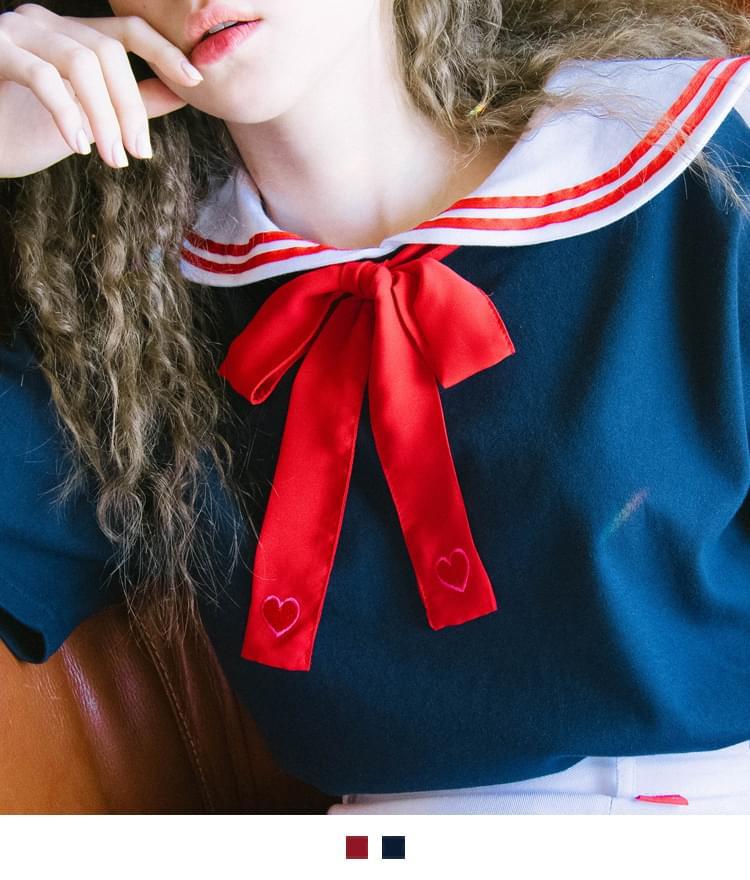 Heart Ribbon Tie