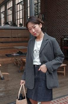 Terarosa- linen jacket