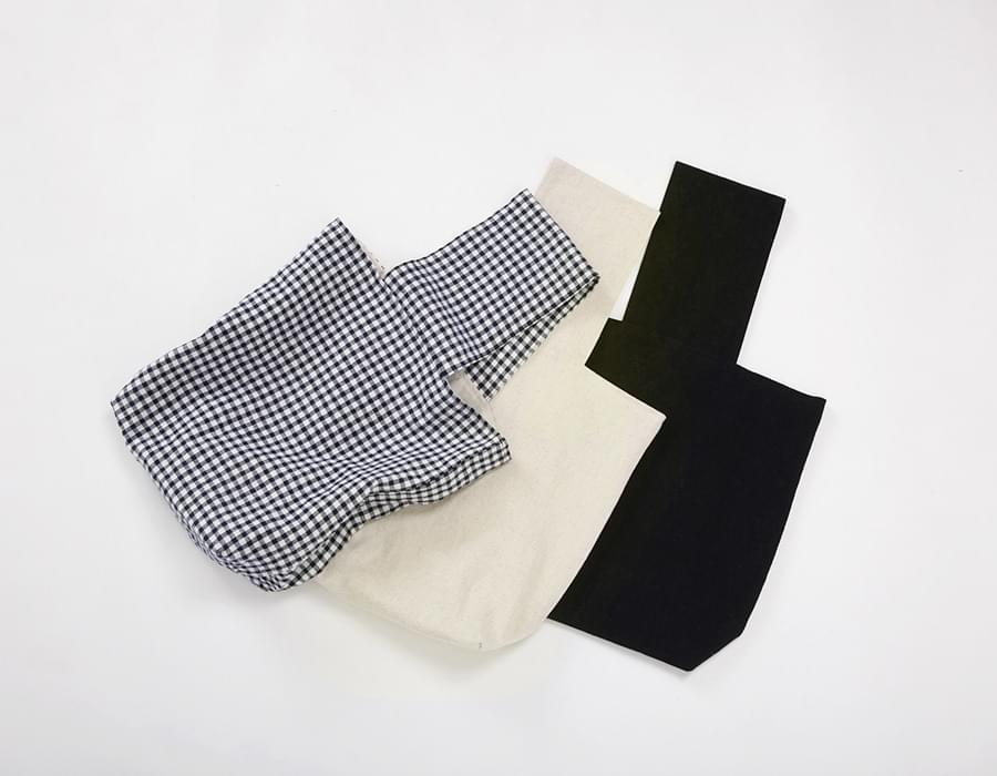 Organic cotton strap bag_K(size : one)