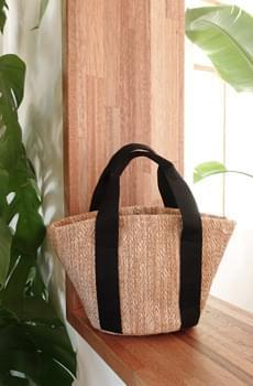 Moon straw bag